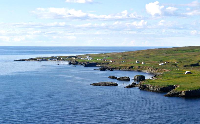 Grímsey Island on the edge of the habitable world
